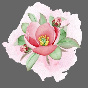 Dog Rose Watercolor