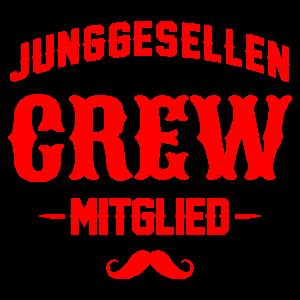 Junggesellenabschied crew mitglied