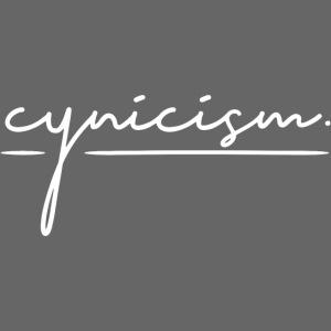 CYNICISM BLACK