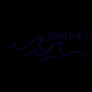 Sonne und Meer Wellengang Wasser