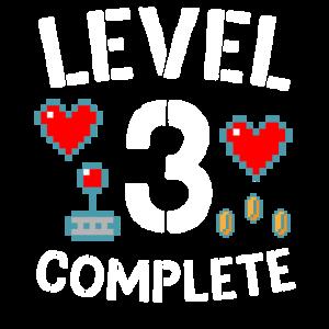 Level 3 Schließe das Video zum 3. Hochzeitstag ab