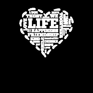 Life Love heart