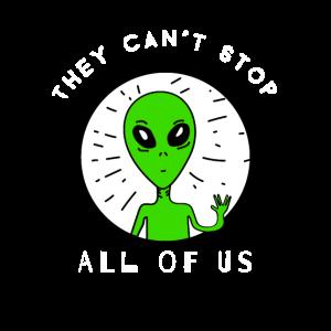 Sie können uns alle nicht aufhalten Area 51 Raid