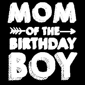 Mutter des Geburtstagsjungen