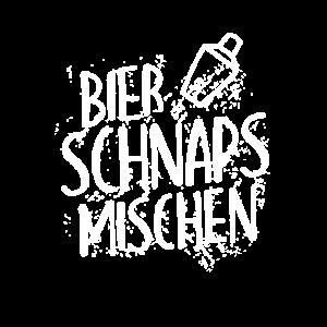 Bier Schnaps Mischen Junggesellenabschieds Spruch