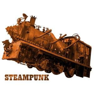 Steampunk Lokomotive Neuseeland