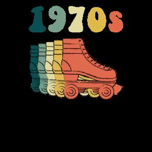 70er Jahre Rollschuh Disco Derby