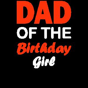 Vater des Geburtstagsmädchens