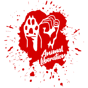 Animal Liberation – Paint (red)