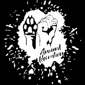 Animal Liberation – Paint (white)