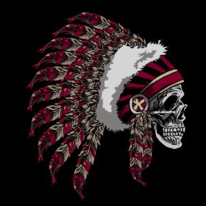 Indisches Schädel-Tier-Kopf-Gesichts-Knochen-Skelett-Geschenk