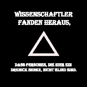 Dreieck Wissenschaftler