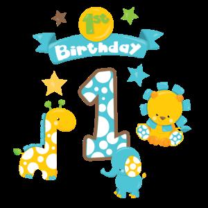 1. Geburtstag Junge Boy 1th Birthday Baby Kinder