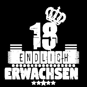 18 jahre, endlich erwachsen! 18. Geburtstag