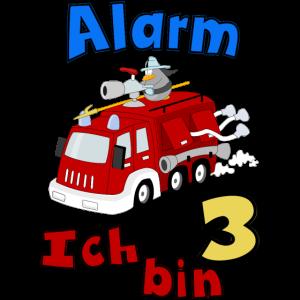 Kinder Feuerwehrauto 3 Jahre Geburtstag