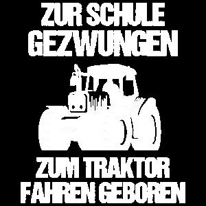 Trecker Trekker Traktor Schule Lustig Geschenk