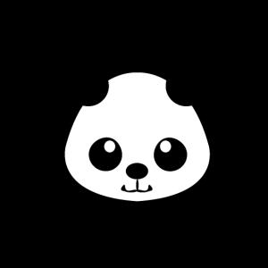Panda in süß