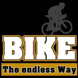 Endos radeln mit dem Fahrrad