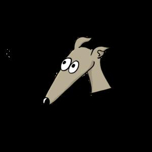 Windhund in der Tasche