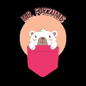 Mr. Fuzzums Pocket Baby Eisbär