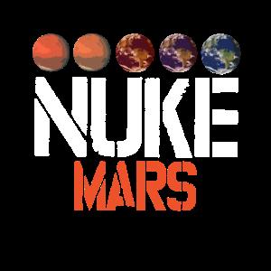 Nuke Mars Occupy Mars