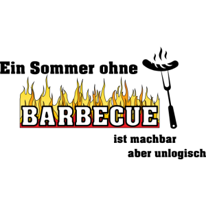 Barbecue Grillschürze