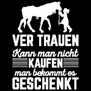 VERTRAUEN Shirt · PFERDEBESITZER · Geschenk