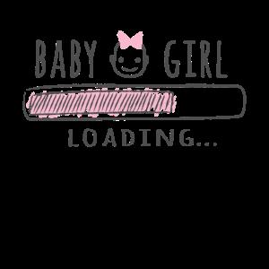 Shirt Geschenk für Schwangere! Baby Girl Mädchen