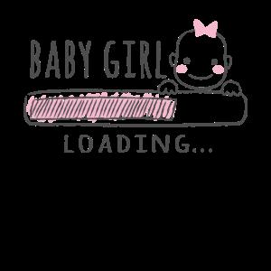 Schwangere Shirt Geschenk Mädchen, Baby Girl
