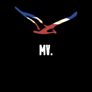 Mecklenburg-Vorpommern MV - Andenken Möwe Mcpomm