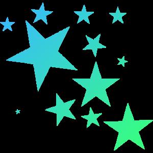 Bunte Sterne Sternenteppich Stern-Muster