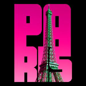 Paris Eiffelturm Pink