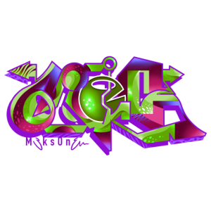 lila / grün