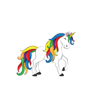 Einhorn aß mein Hausaufgaben-T-Shirt zurück zu Schule