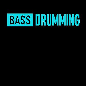 Bass drumming Schlagzeug