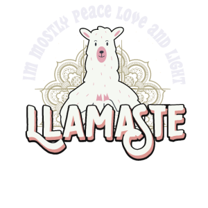 Lustiges Yogis Llamaste product Lama macht Yoga