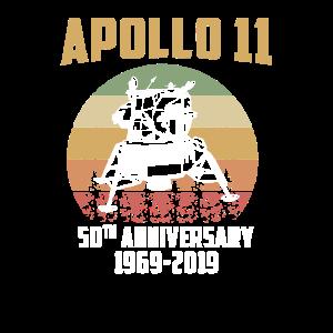 Apollo 11 50. Jahre 1969 Mondlandung