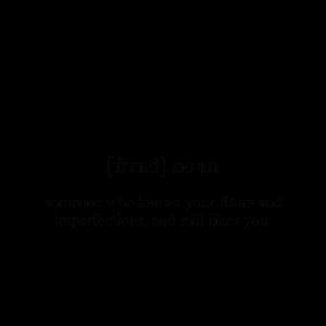 Friend (Freund) Definition Unisex T-Shirt