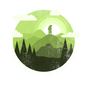 Klimaschutz Bär Natur Geschenk friday for future