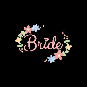 Bride Braut JGA Junggesellinnenabschied Hochzeit