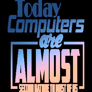 Computer Pc Rechner Spruch Freak suchti