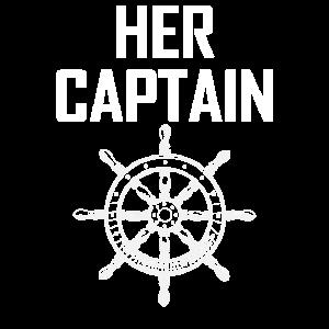 Ihr Kapitän Matching Couple