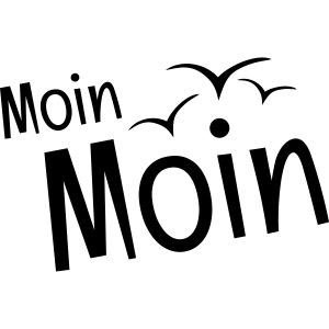 Moin Moin mit Möwen