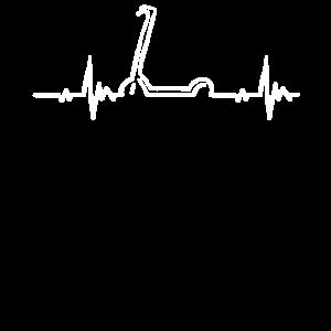 Herzschlag für E-Roller E-Tretroller Motorroller