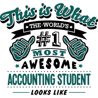accounting student world no1 most awesom