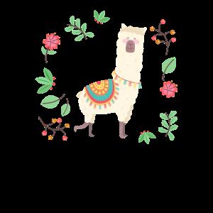 Süßes Alpaka / Lama