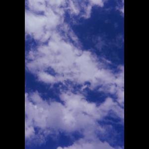 sky blauer himmel mit wolken