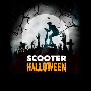 Halloween Elektro Roller Shirt