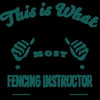 fencing instructor world no1 most awesom
