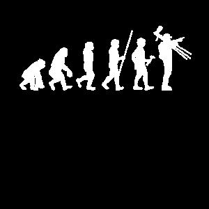 Evolution Fotograf T-Shirt Fotografen Shirt